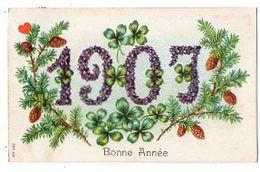 39209-ZE-FETES--Bonne Année 1907 - Neujahr