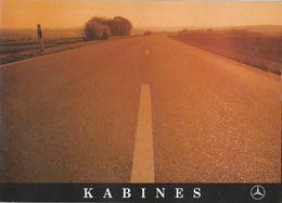 Brochure-leaflet: Mercedes-benz AG Stuttgart-unterteuerkheim (D) Kabines - Trucks