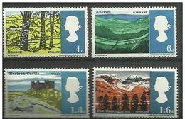 GB - 1966 Landscapes  MLH *  Sc 454-7 - 1952-.... (Elizabeth II)
