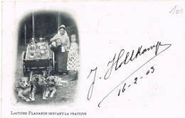 A  Laitiere Flamandes Vlaamse Melkboerinnen - Artisanat