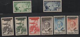 LOT 555 -  FEZZAN  N° 60/67  **  Manque N° 56/59-  Cote 46.00 € - Fezzan (1943-1951)