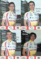 Cyclisme, 13 Cartes ASC Vila Do Conde 2003 - Radsport