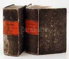 Cervantes, Miguel De: L'ingénieux Chevalier Don Quixote De La Manche. 1-4. Köt. Párizs, 1821, Th. Desoer. Az 1-2. és A 3 - Bücher, Zeitschriften, Comics