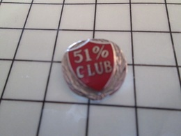 1017 Pin's Pins / Beau Et Rare / THEME : MARQUES / CLUB 51% Saloperie D'actionnaire Majoritaire - Trademarks