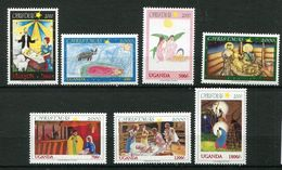 Ouganda ** N° 1922 à 1928  - Noël - Dessins D'enfants Et Adolescents - Weihnachten