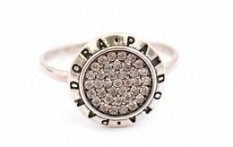 Ezüst(Ag) Gyűrű, Pandora Jelzéssel, Méret: 58, Bruttó: 2,43 G - Bijoux & Horlogerie