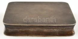 Ezüst(Ag) Cigarettatárca, Jelzett, 8×6,5×1,5 Cm, Nettó: 133 G - Bijoux & Horlogerie