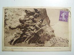 WW D  WW1 HARTMANNSWILLERKOPF Groupe Central Du Monument Du 152é R I - Autres Communes