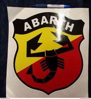 Adesivo Auto ABARTH Rally Cars 26 X 29 Cm STICKERS Voitures Automobiles - Autocollants