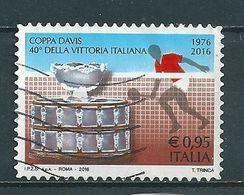 2016 COPPA DAVIS  USATO - 6. 1946-.. Repubblica