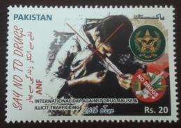 MNH STAMPS Pakistan - International Day Against Drug Abuse & Illicit Trafficking- 2020 - Pakistan