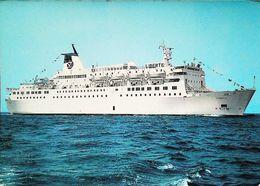 Paquebot Ferry - LIBERTE - Cie SNCM - 1980s - Fähren