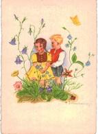 Thème -  Illustration - Herta Wassekampf - Enfants - Coccinelle - Papillon - 812 - Illustrateurs & Photographes