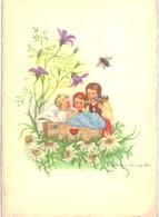 Thème -  Illustration - Herta Wassekampf - Enfants - Abeille - 868 - Illustrateurs & Photographes