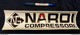 Adesivo COMPRESSORI NARDI Auto Cars 30 X 9 Cm STICKERS - Autocollants