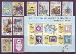 Italia 1985 - Lotto Di Usati Con Buoni Annulli Rotondi - 1981-90: Usati