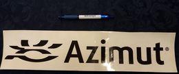 Adesivo AZIMUT Rally Auto Cars 42 X 10 Cm STICKERS Voitures Automobiles - Autocollants