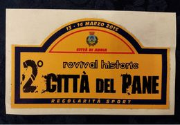 Adesivo Adria Rovigo Revival Historic Rally Auto Cars 10 X 5 Cm STICKERS Voitures Automobiles - Autocollants