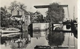SCHIEDAM    HOOFDBRUG   NW. HAVEN  ( ECRITE  1955  ) - Schiedam