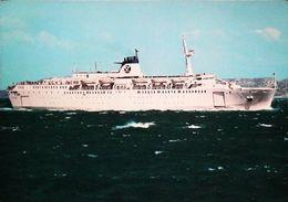 Paquebot Ferry - PROVENCE  - SNCM - Courrier De Corse 1980s - Fähren