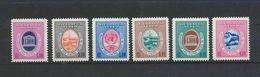 NICARAGUA - UNESCO 1958 -yvert PA 395/400 Et 832/7 -MNH XX Casa Central Paris - UNESCO