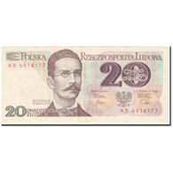 Billet, Pologne, 20 Zlotych, 1982, 1982-06-01, KM:149a, TTB+ - Poland