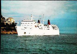 Paquebot Ferry - Le COMTE De NICE - Cie Gale Transatlantique - Au Large 1960/70s - Ferries
