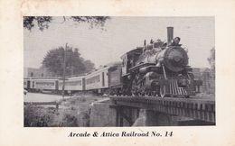USA Arcade & Attica Railroad - Trains