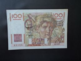 FRANCE : 100 FRANCS   3-4-1952    FAYETTE 28 / P 128d    Presque SUP - 1871-1952 Antiguos Francos Circulantes En El XX Siglo