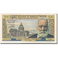 France, 500 Francs, Victor Hugo, 1958, 1958-02-06, SUP, Fayette:35.08, KM:133b - 1871-1952 Antiguos Francos Circulantes En El XX Siglo