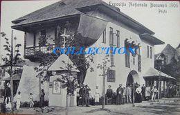 EXPO BUCURESTI 1906, CAROL I Park, PAVILIONUL POSTA, Animata, Rara, Unused - Romania