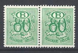 Nr S54 X 2 ** - Dienstzegels