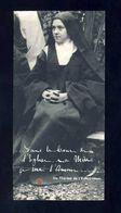 Image Pieuse Avec Relique: Sainte Therese De L'Enfant Jesus (Ref. 109287) - Santini