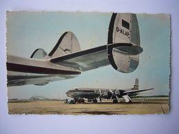 Avion / Airplane / LUFTHANSA / Lockheed Constellation / PAN AMERICAN / Douglas DC-7 - 1946-....: Ere Moderne