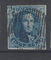 Nr 4 Gestempeld - 1849-1850 Medallions (3/5)