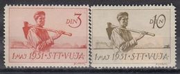 VUJA 52-53,unused - Yougoslavie