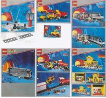 Lot 6 Catalogues Lego  Gares - Catálogos