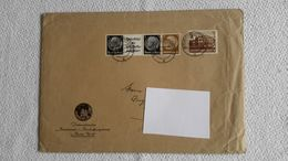 Briefumschlag Dina 5 Stempel 5 Briefmarken 1942 Berlin Charlottenburg - 1939-45