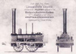 England Stampex Card Stephenson Liverpool & Manchester Railway - Métro