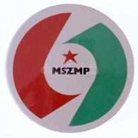 """""""MSZMP (Magyar Szocialista Munkáspárt)"""" Pártjelvény, Nagyobb Méretű Változat (40mm) T:2 - Monnaies & Billets"""