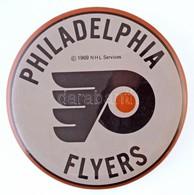 """Amerikai Egyesült Államok 1969. """"Philadephia Flyers"""" Fém Jelvény (87mm) T:2 USA 1969. """"Philadephia Flyers"""" Metal Badge ( - Monnaies & Billets"""