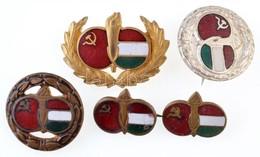 """5db-os """"Szovjet-Magyar Baráti Társaság"""" Jelvény Tétel, Mind Klf T:2 - Monnaies & Billets"""