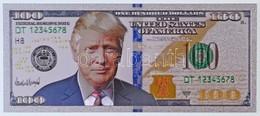 """Amerikai Egyesült Államok 2009A 100$ """"Trump"""" Műanyag T:I USA 2009A 100 Dollar """"Trump"""" Plastic C:Unc - Monnaies & Billets"""