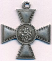 """Orosz Birodalom DN """"Szent György-kereszt"""" IV. Osztály Replika, Mellszalag Nélkül T:2 Russian Empire ND """"Cross Of St. Geo - Monnaies & Billets"""