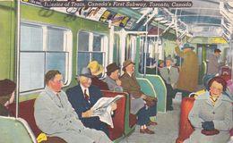 Canada Interior First Subway - Métro