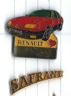 Renault Safrane : 2 Pins Logo Signé Artus Bertrand - Renault