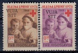 VUJA Postage Due 3-4,unused - Yougoslavie