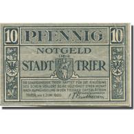 Billet, Allemagne, Trier, 10 Pfennig, Blason, 1920, 1920-06-01, TTB, Mehl:T27.8 - Duitsland