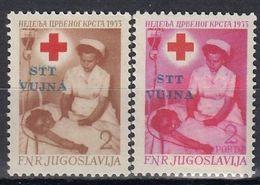VUJA Postage Due 9-10,unused - Yougoslavie