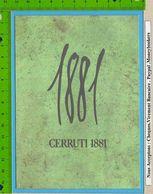 Carte Ou Batonné  Formes Diverses  : Parfum :cerruti 1881 Echantillon+ Voir Scan Pour Differents Autres - Cartas Perfumadas